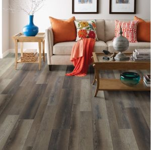 attractive custom laminate floor installation